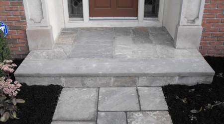 Bluestone Step and Walkway