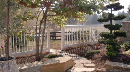 Custom Wooden Fence