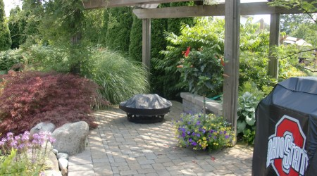 Grilling Space with Pergola