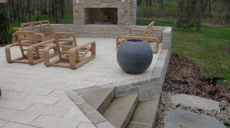 Natural Limestone Steps