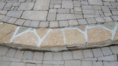 Masonry Steps & Earth Blend, Belhaven Pavers