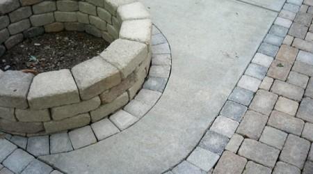 Renovated Concrete Driveway
