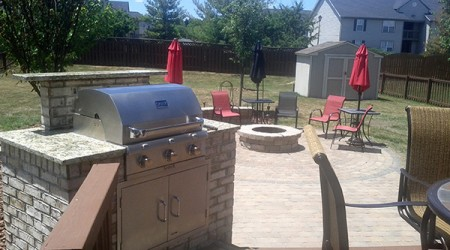 Grill and Fire-pit
