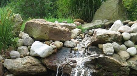 Naturalistic Stream and Falls