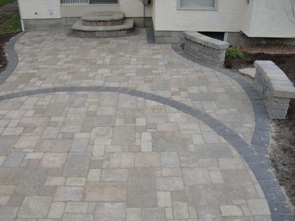 Paving Spellacys TURFLAWN Inc - Granite patio pavers