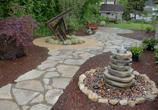 Water Features | Spellacy's TURF-LAWN Inc.
